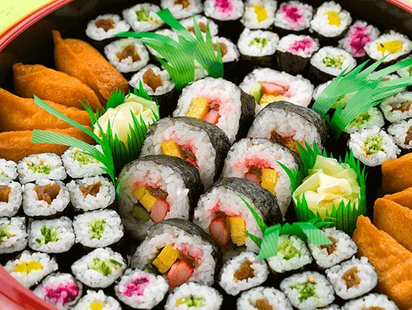 助六寿司(巻物)