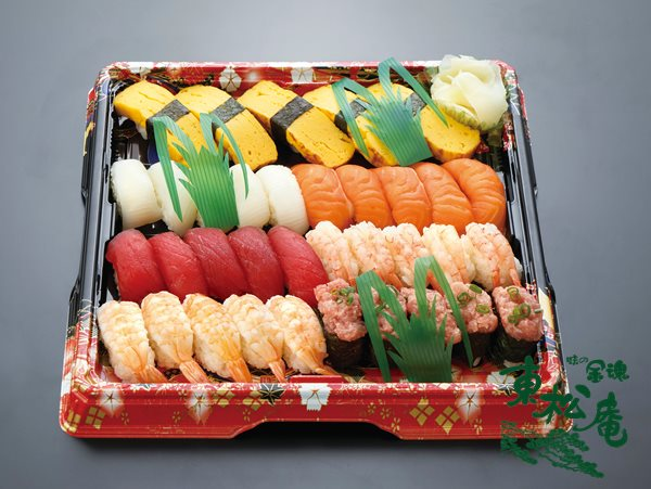 生寿司盛合せ